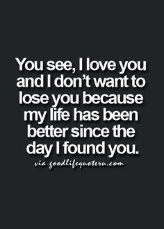 ((( <3 ))) i love You and  i don't want to lose You V^V <3 V^V.... #soulmatefacts