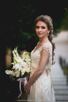 bride, vintage bride, wedding dress, vintage dress