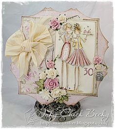 Cards By Becky: Birthday Or Mother's Day With The Inky Chicks