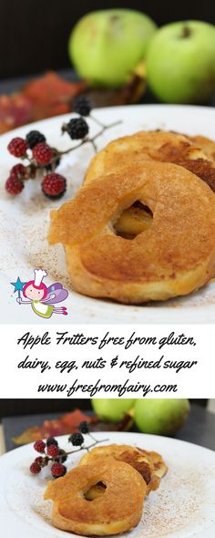 The only recipe you need for sweet, crispy apple fritters. They are glutenfree, dairyfree, eggfree, nutfree and refined sugarfree unyet they taste amazing. My kids love them for pudding!
