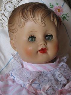 old vintage doll