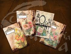 Quadernetti d'epoca serie fiori