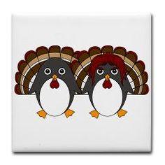 Thanksgiving, Mr Penguin, Holidays, Harvest, Pumpkins, Cute, Penguin, Corn, Autumn, Autumnal, Seasonal, Cartoon, Goldfishdreams, Turkey,
