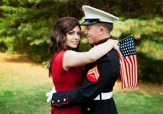 USMC Engagement Pictures « Wedding Ideas, Top Wedding Blog's, Wedding Trends 2014 – David Tutera's It's a Bride's Life