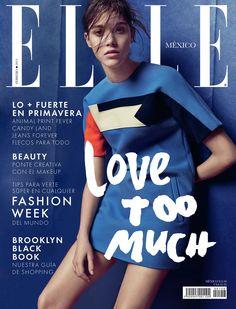 Pauline Hoarau for Elle Mexico February 2015