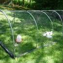 For my first Instructable, I'll show you how NOT to build a Chicken Tractor, which is a portable, enclosed pen for chickens. Each day you can move it to a ...