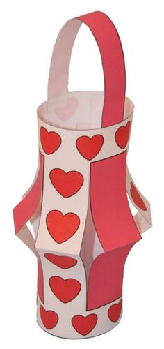 valentine's day art dltk
