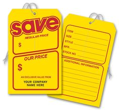 This tag can be used show price discount on products so that customers can see exactly hove much they saved