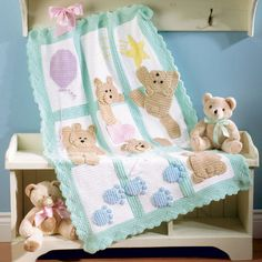 BEBE CROCHÊ. So lovely baby blanket