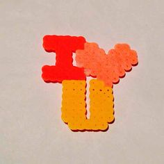 I heart you perler ($4) is on sale on Mercari, check it out! http://item.mercariapp.com/gl/m864429726