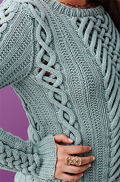 Ravelry: #08 Fretwork Pullover pattern by Shiri Mor