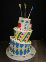 Artist Birthday Cake | Sinfully Sweet Cakes, Charlotte