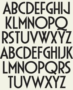 Obsessed with Art Deco fonts right now - Letterhead Fonts / LHF Gloria / Art Deco Fonts #design #typography