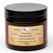 Moroccan Ghassoul clay face mask is a wonderful tradition used in morocco. It contains ingredients that are known for it's skin cleansing and softening properties.  Famous for it's wonderful ability to absorb impurities of the skin. Great for all skin types especially acne, oily, dull lifeless skin!  CLICK HERE...... http://shop.allnaturalskincare.com/7-Ghassoul-Clay-with-Essential-Oils-Ghassoul-Clay-Face-mask.htm