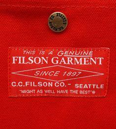 Filson Red Label