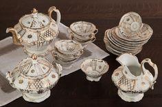 Antique Old Paris Porcelain Tea Set | Antique China/Ceramics | Inessa Stewart's Antiques