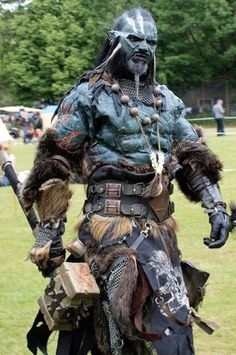 Wow, an orc cosplay