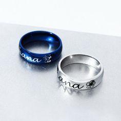 Children/'s//Adolescente//Kid/'s Luz Azul fimo flor anillo en tono plata-Adjustab