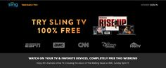 Sling TV Free Preview this weekend February 11th – 13th Sling Tv, February 11, Take Back, How To Find Out, Channel, Free