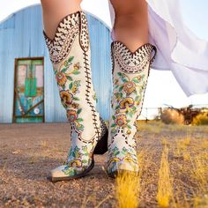 ALMOST FAMOUS by @ddranchwear available online and in stores the next few weeks. What do you think? #tallboots #joshuatree #openroad #boots… Tall Boots, Knee High Boots, Shoe Boots, Cowgirl Boots, Western Boots, Beautiful Shoes, Cute Shoes, Me Too Shoes, Old Gringo Boots