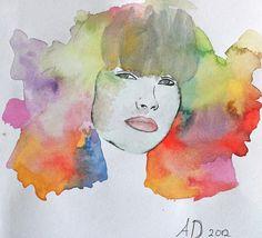 Aquarel painting