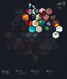 Web Design Inspiration: Andrei Gorokhov