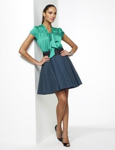 colors, tie front blouse
