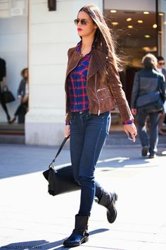 Zagreb women's fall urban fashion