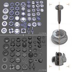 ArtStation - Nuts & Bolts, Oscar Navarro