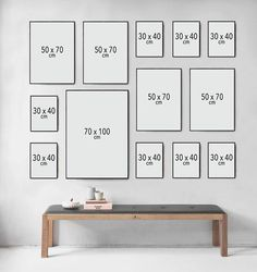 Picture Wall Inspiration How to make a picture wall Nonsense Decor Room, Living Room Decor, Diy Home Decor, Gallery Wall Layout, Photo Wall Decor, Family Wall, Inspiration Wall, Frames On Wall, Wall Design