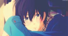 #Anime ∙Tonari no Kaibutsu-kun. ∙My Little Monster ∙Haru Yoshida KAWAII Blushing