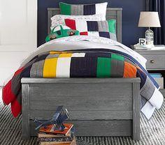 Charlie Low Footboard Bedroom Set #pbkids