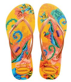 Havaianas Flip Flops - Banana Yellow from Chocolate Shoe Boutique Cute Sandals, Flip Flop Sandals, Flip Flops, Wedge Boots, Shoe Boots, Flip Flop Fantasy, Peacock Shoes, Loafer Slippers, Cinderella Shoes