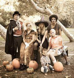 Halloween Family Photo Shoot