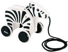 BRIO Dragleksak Zebra