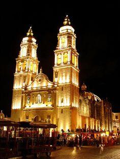 Catedral de la Purísima Concepción, Campeche, Mexico.