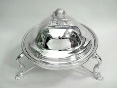 ANTIQUE SILVER PLATED ENTREE / CHAFFING DISH / SERVING c. 1900 John Bull Antiques www.antique-silver.co.uk Silver Dealer Antique Silver & Giftware London, UK