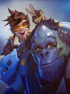 The Art of Overwatch, by Blizzard Entertainment