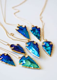 color crush: electric blue | kei jewelry