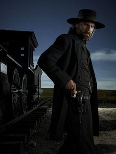 Anson Mount as Cullen Bohannon in Hell on Wheels