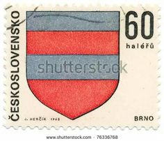 Brno czech stamp 1968 Czech Tattoo, European Countries, Czech Republic, Stamps, Country, Seals, Rural Area, Country Music, Postage Stamps