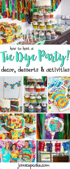 Dye Tuesday Tie Dye Party How to Host a Tie Dye Party Decor desserts and game ideas all without actually Tie Dying Colors Scavenger Hunt How to Host a Tie Dye Party De. 1st Birthday Games, 10th Birthday Parties, Birthday Party Themes, Birthday Ideas, 12th Birthday, Birthday Stuff, Birthday Wishes, Birthday Cake, Sleepover Party
