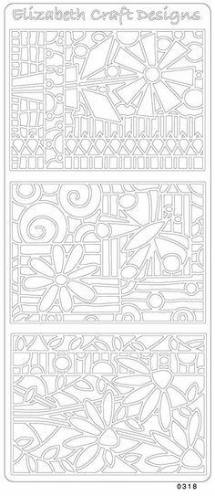 Elizabeth Craft Designs PeelOff Sticker 0318B ATC by PNWCrafts, $1.99
