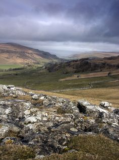 Storm over Wharfedale, Yorkshire Dales, England by loftylion9