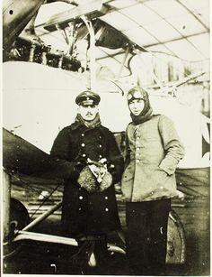 World War One German Aviator Lt. Fahlbosch Lt. Rosencratz