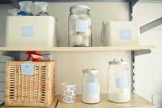 This could be a little project while I'm not working outside the home - organize the laundry area! A little delightful: {printable} laundry labels Laundry Shelves, Laundry Room Organization, Laundry Rooms, Basement Laundry, Laundry Area, Laundry Closet, Laundry Tips, Printable Lables, Free Printables