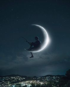 Pin Image by gatoloco Art Beautiful Wallpapers, Moon Art, Photo, Galaxy Wallpaper, Moon Pictures, Fantasy Art, Art, Pictures, Scenery