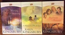 Lot of 3 - KAREN KINGSBURY - Forever Faithful  # 1 & 2 & 3  -   Paperback Books