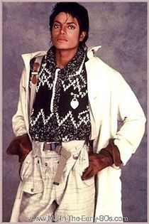 Michael Jackson, early 80s.