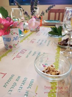 ?? ????? ????? ????- ?? ???u0027 ???? ?????? | gonnabe40 & Seder table setting #Passover | passover | Pinterest | Table ...